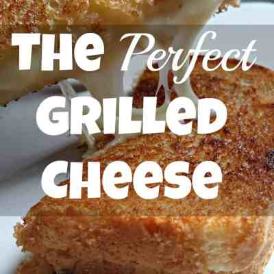 The Perfect Grilled Cheese: Full Of Words Wednesday