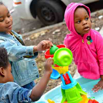 Step2 Water Works Water Table Review: Providing Splashes and Education