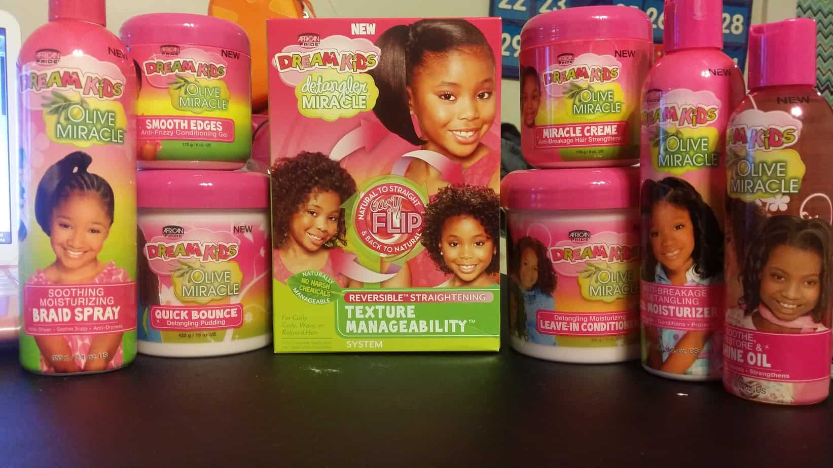 Enjoyable Dream Kids Detangler Miracle Texture Manageability System Offers Natural Hairstyles Runnerswayorg