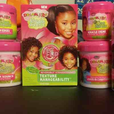 Dream Kids Detangler Miracle Texture Manageability System Offers Moms Natural Hair Options #DreamKidsTMS #TryTMS