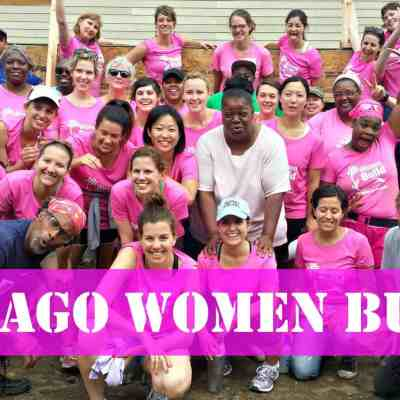 4 Days, 130 Women Build  #CHIWomenBuild {Day 1}