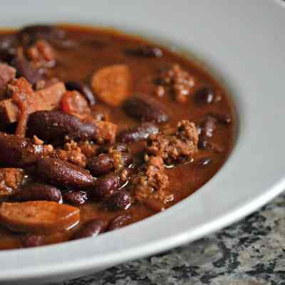 Mr. Houseful's Homemade Chili