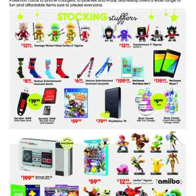 GameStop has What Your Gamer Needs this Holiday Season
