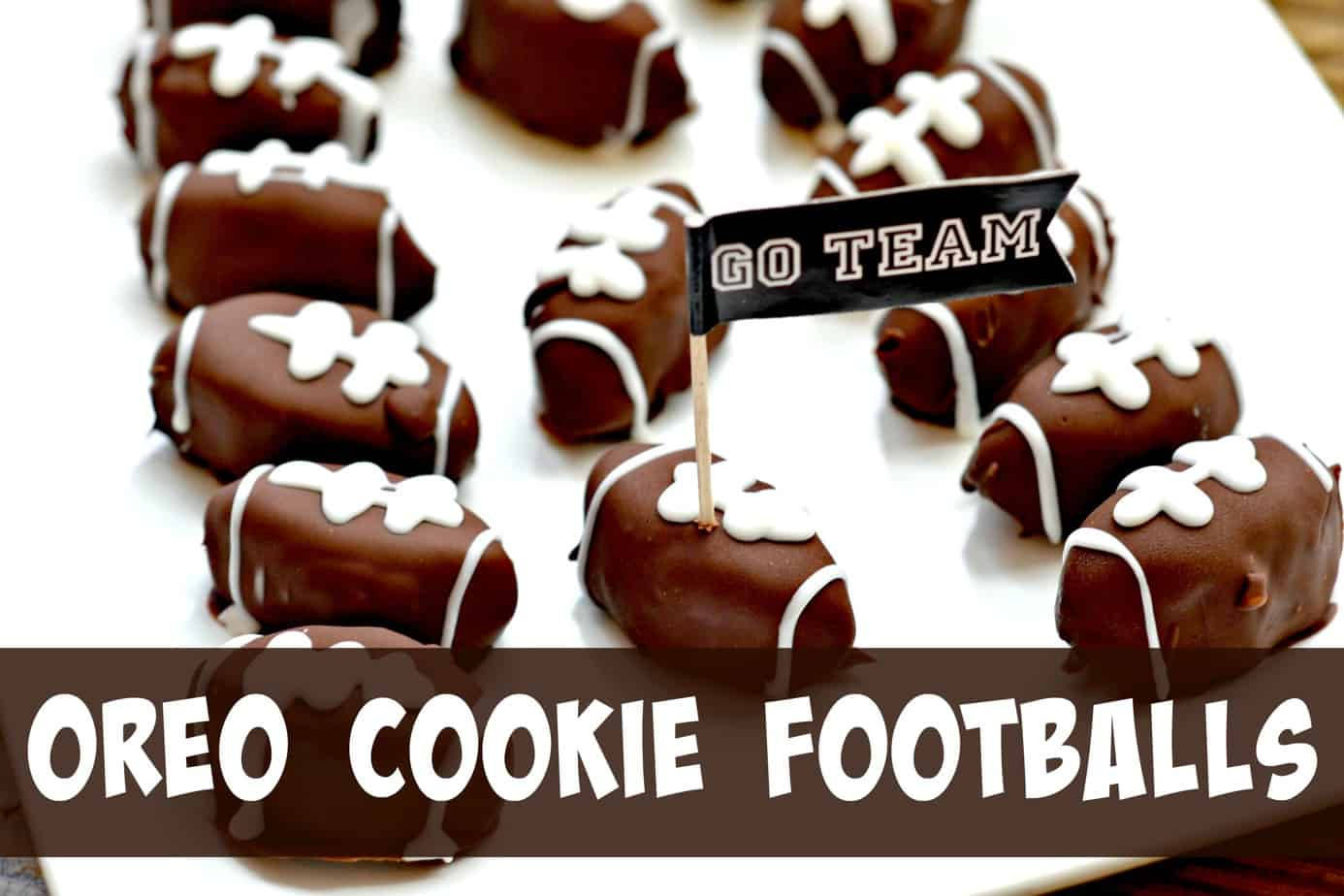 OREO Cookie Footballs