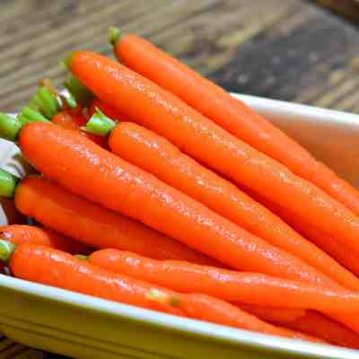 Valentine's Day Dinner: Glazed Carrots