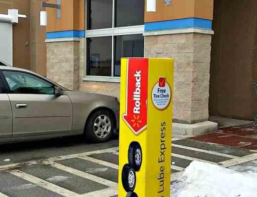 Drop Shop and Oil at Walmart