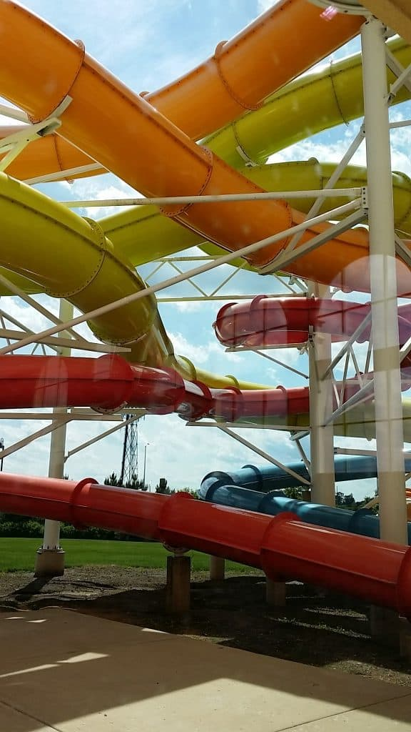 Water Slides at Key Lime Cove