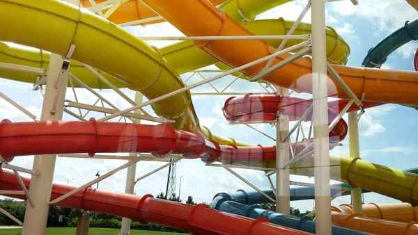Water Tubes at Key Lime Cove