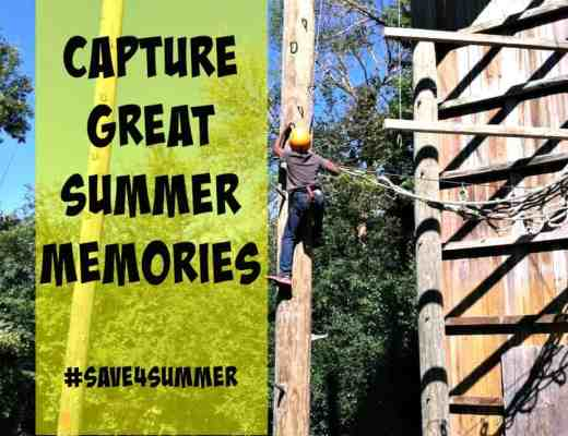 Capture Great Summer Memories #Save4Summer