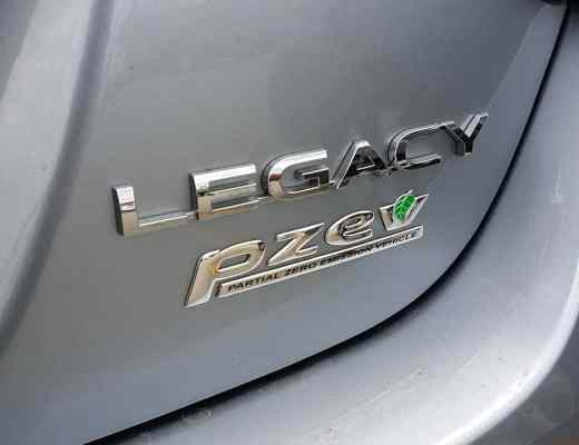 My Week In a Subaru Legacy