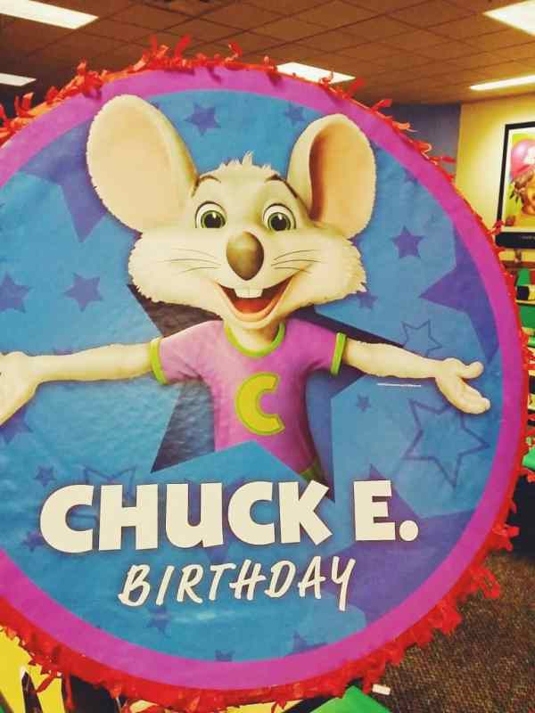 Chuck E Cheese birthday parties are the way to go