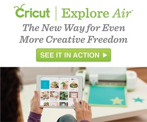 Cricut Explore Air Makes Valentine's Day Sweet