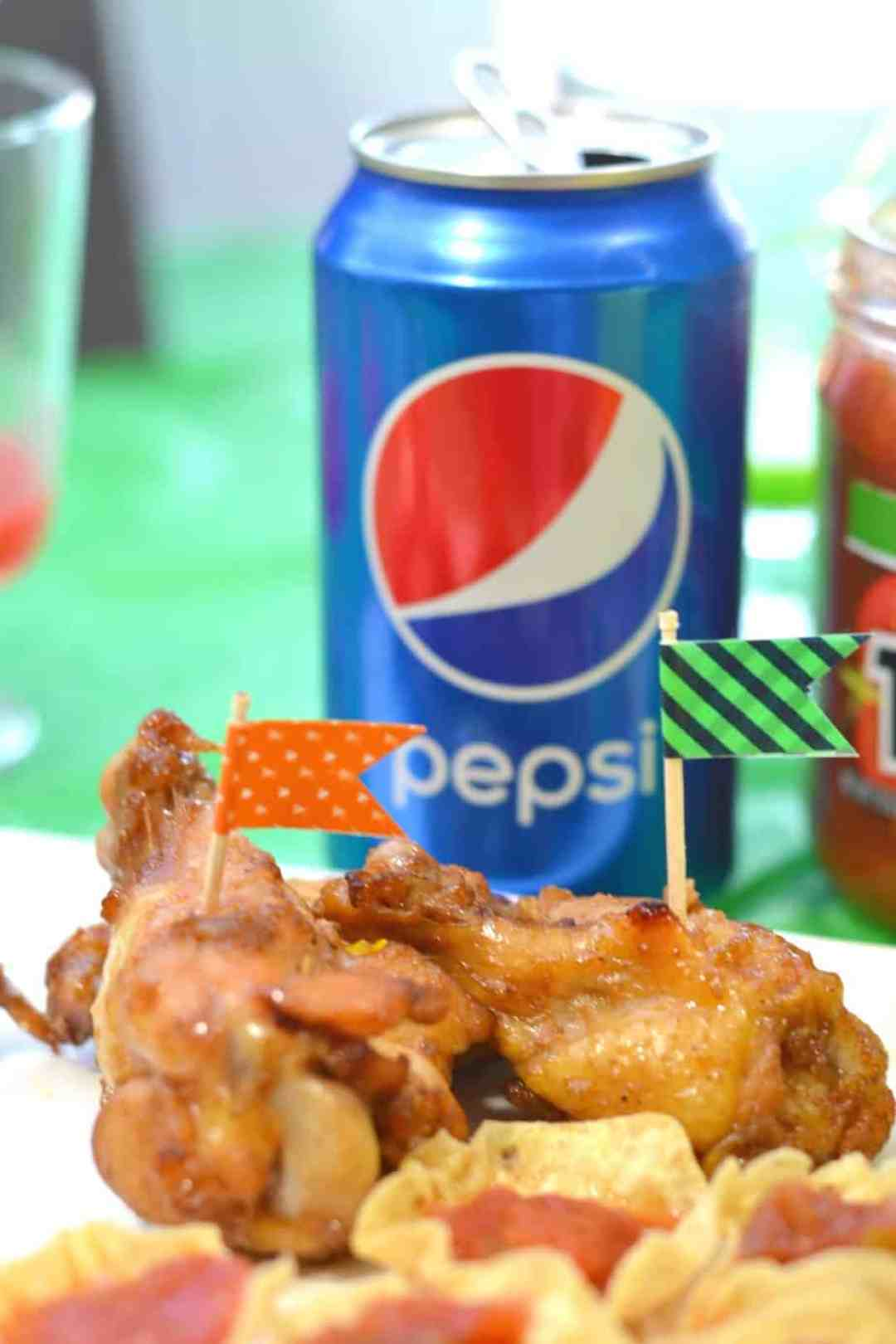 Pepsi glazed chicken