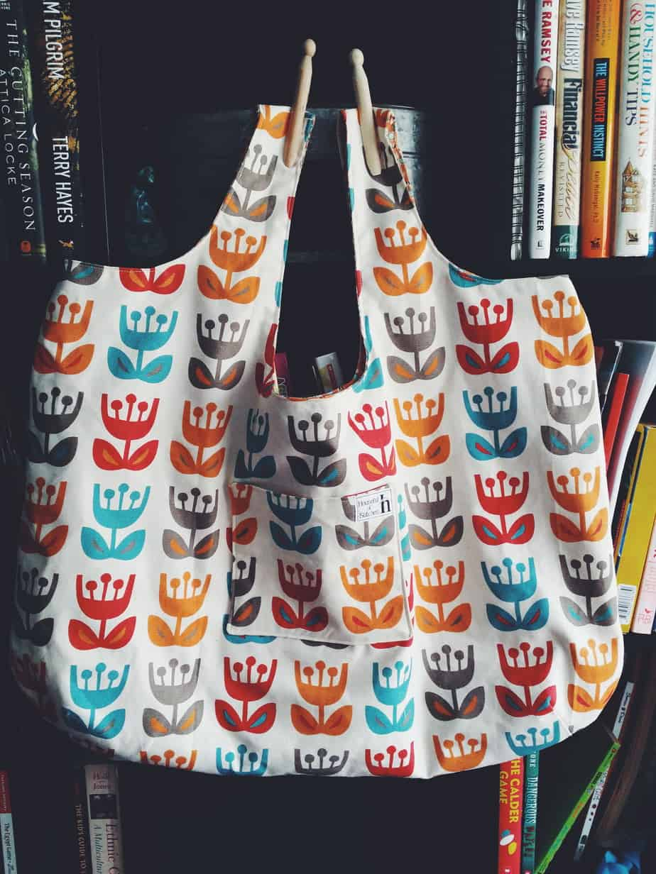 Brielle Market Bag by I Think Sew
