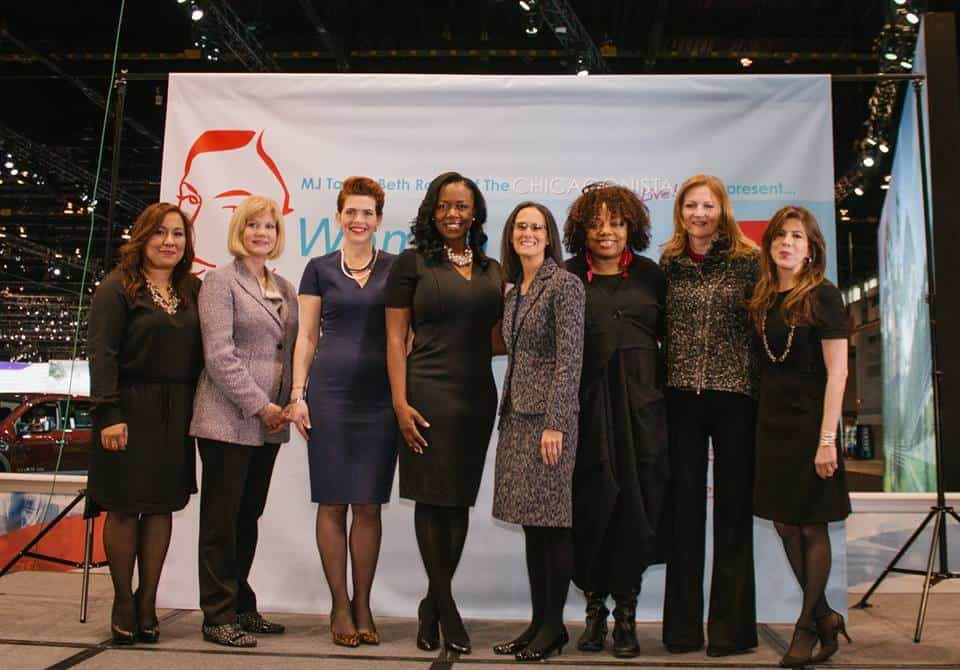 2016 Chicago Auto Show Women Driving Excellence Honorees