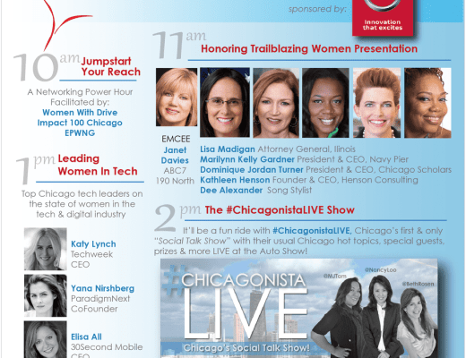 Chicago Auto Show Women Driving Excellence 2016