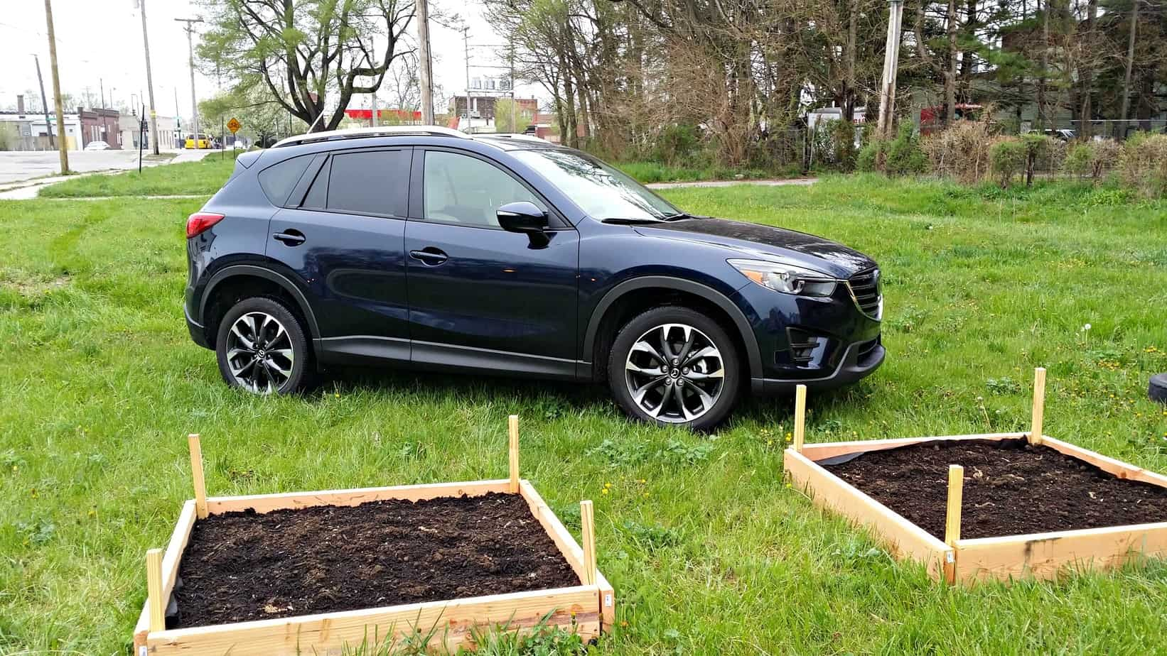 Celebrating Earth Day with Mazda CX5