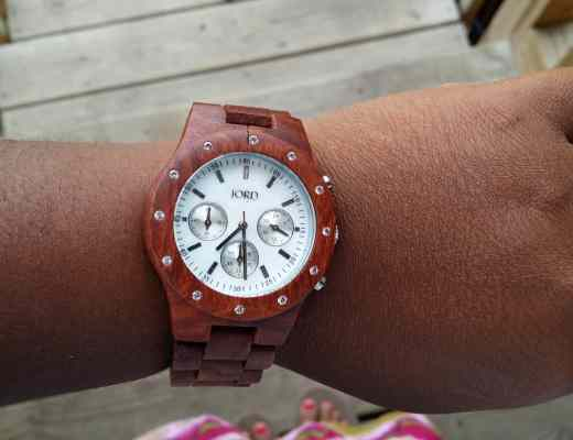 Jord Sidney Wooden Watch