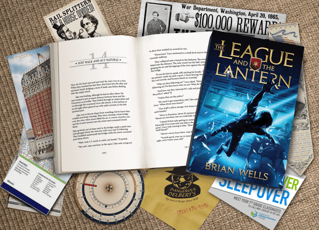 The League and the Lantern by Brian Wells