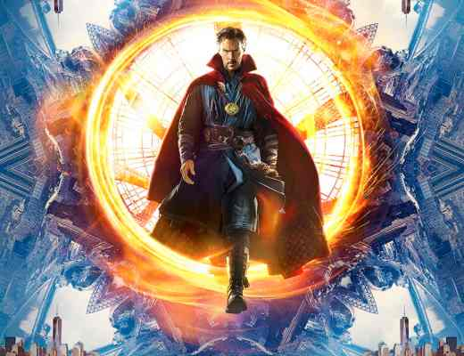 Doctor Strange in theaters November 4