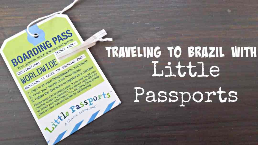 Little Passports Brazil Unit