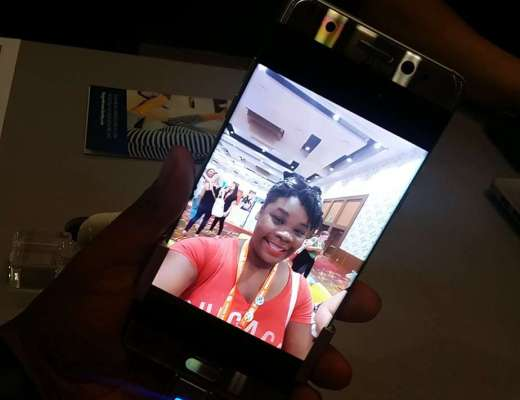 Samsung Galaxy Note 7 at the Best Buy booth at #BlogHer16