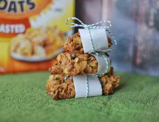 Nutty Honey Roasted Breakfast Crisps