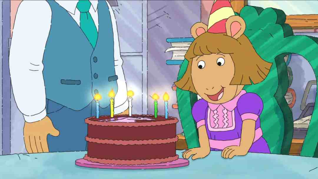 D.W. Read Turns 5 in ARTHUR Special
