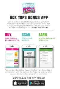 Box Tops Bonus App