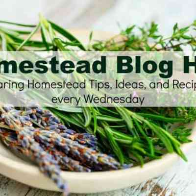 Homestead Blog Hop 184
