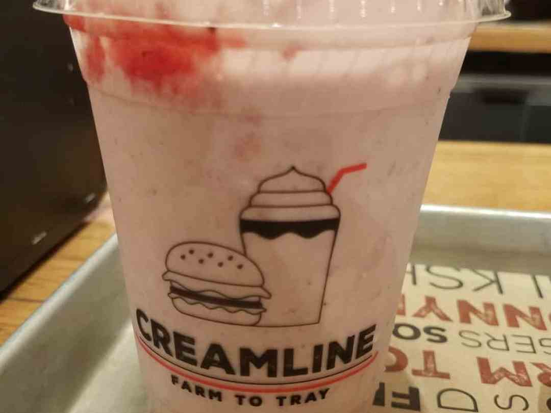Creamline Strawberry Shake - Chelsea Market New York City