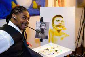 Harlem Fine Arts Show Artist Antonio Davis