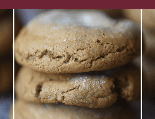 Slow As Molasses Cookies - #HousefulOfCookies