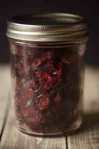 Oven Dried Cranberries