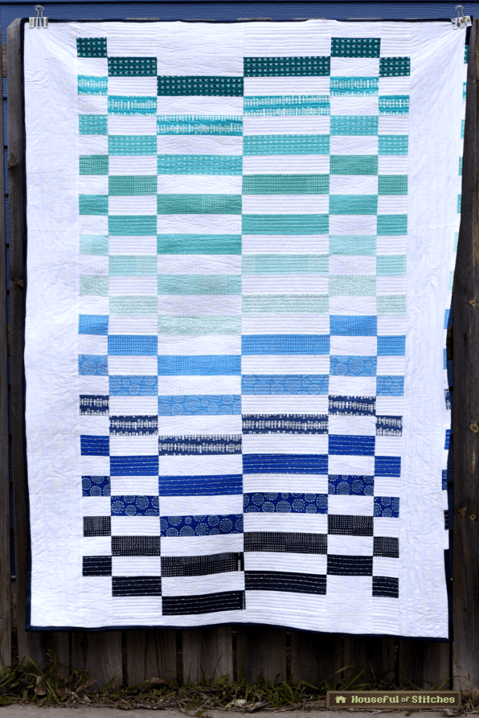 Staggered Quilt Pattern by The Night Quilter