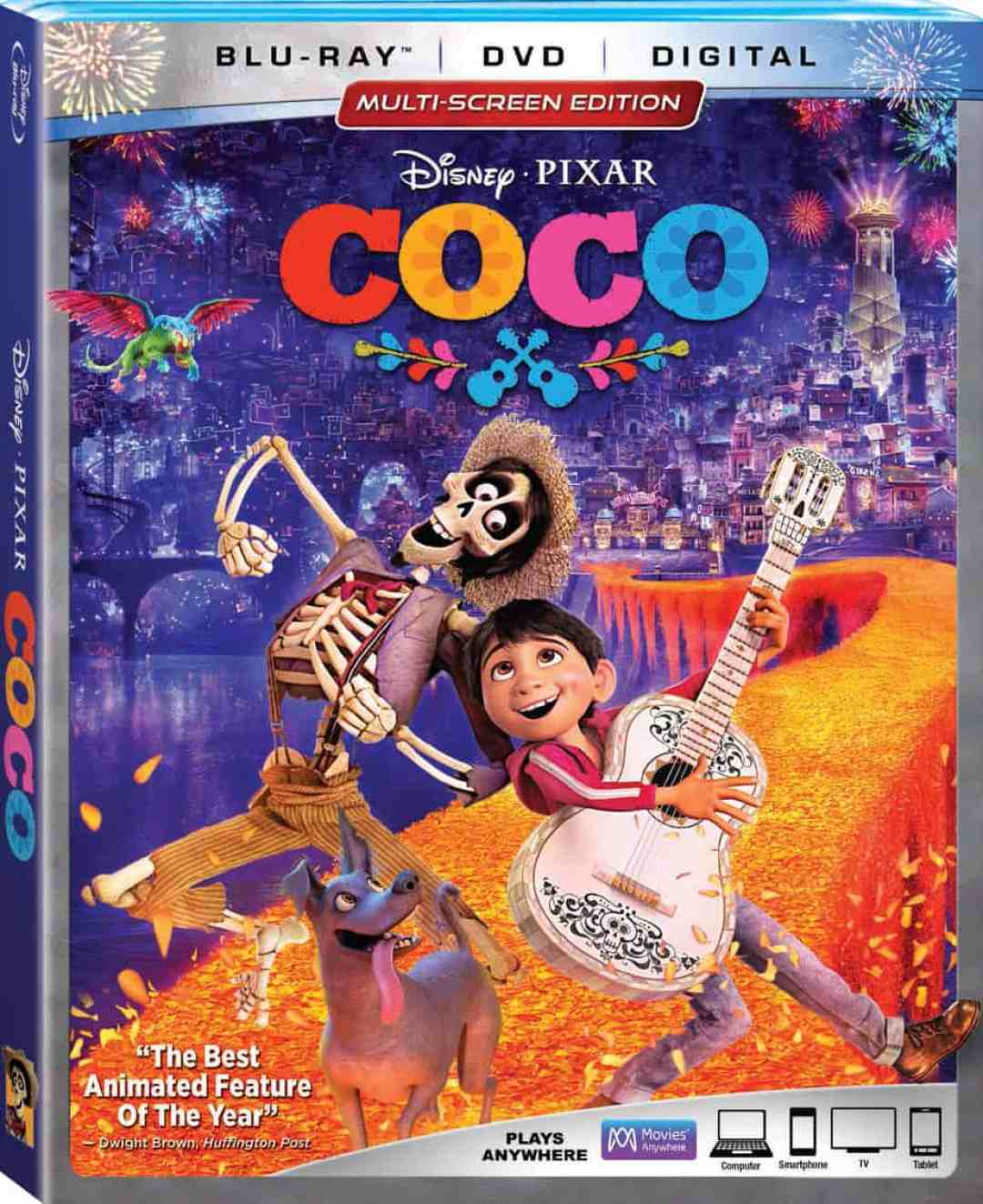 As part of the #BlackPantherEvent Disney will be releasing Coco on BluRay #CocoBluRay