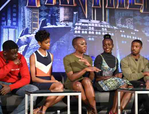 Black Panther Global Press Conference