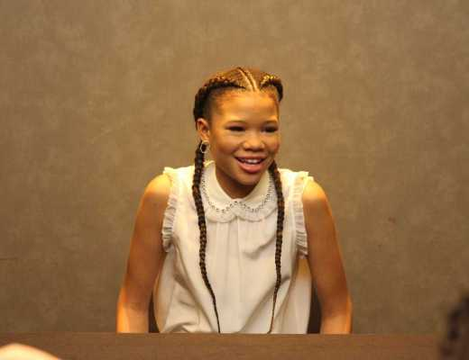Interview with Storm Reid from A Wrinkle In Time
