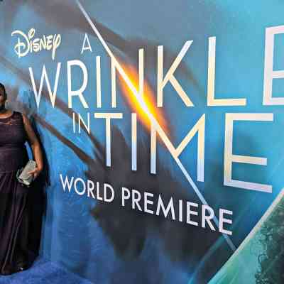 Walking the Blue Carpet for A Wrinkle In Time Premiere #WrinkleInTimeEvent