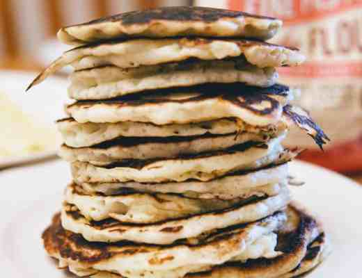 Have pancakes whenever you want with this homemade pancake mix. This mix serves up pancakes light and fluffy and perfect for Saturday morning breakfast.