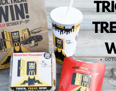 Trick.Treat.Win! With McDonald's