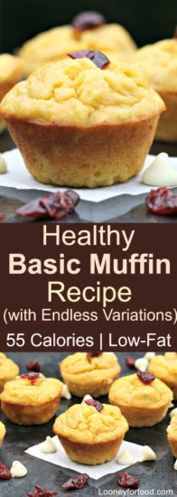 Homestead Blog Hop Feature - Basic Muffin Recipe with Variations