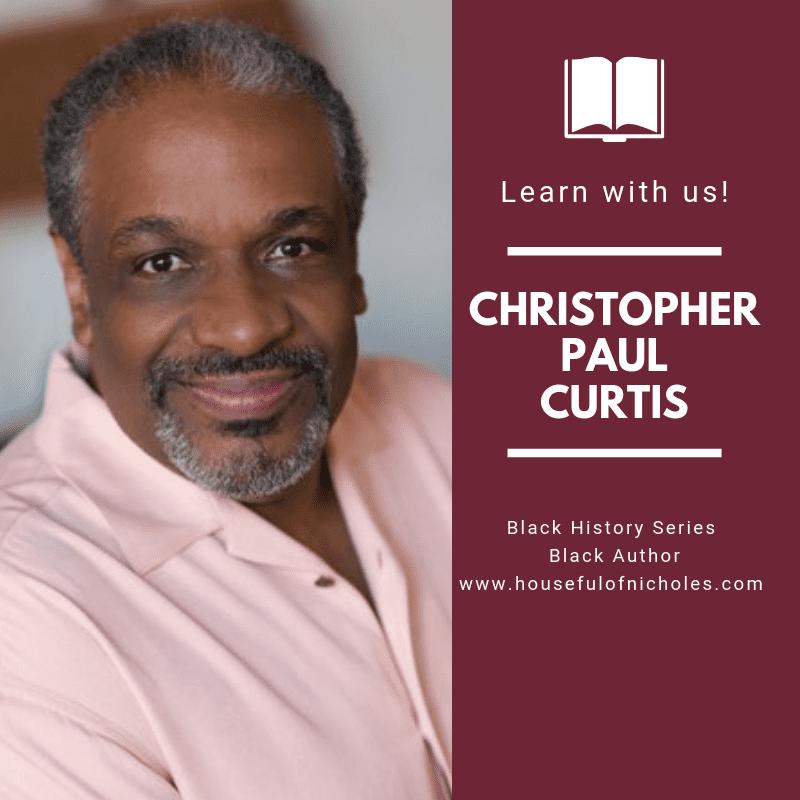 Christopher Paul Curtis - Photo Credit Daniel Harris. Author of award winning children's novels.