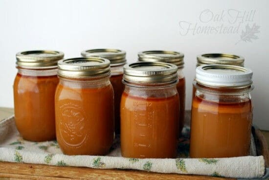 Homestead Blog Hop Feature - how to pressure can chicken stock