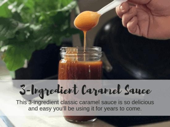 Homestead Blog Hop Feature - 3 Ingredient Carmel Sauce Recipe