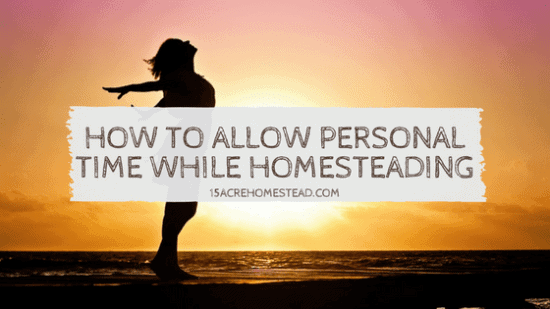 Homestead Blog Hop Feature - How-to-Allow-Personal-Time-While-Homesteading