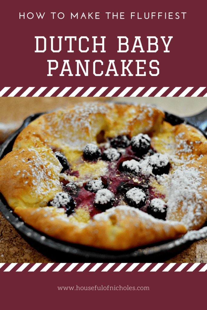 Looking to change up breakfast today? Try this simple recipe for Blueberry Dutch Baby Pancakes, and give it a special touch in idividual cast iron skillets.