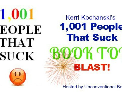 1,001 People That Suck Book Tour