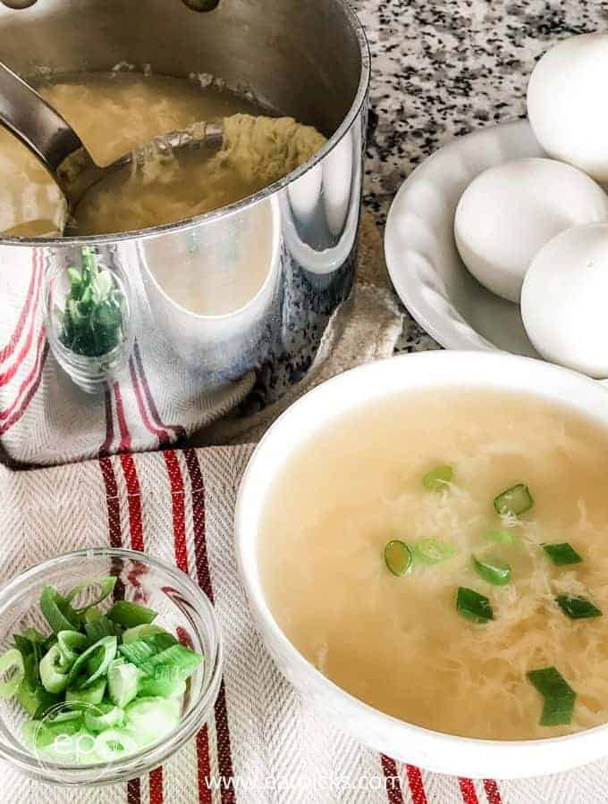 SUPER Easy & Delicious Egg Drop Soup Recipe