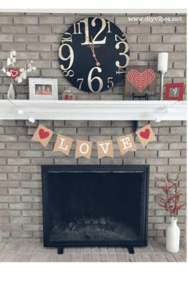 Homestead Blog Hop Feature - DIY Valentine Banner